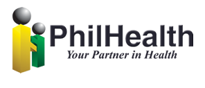 PhilHealth Logo - Two men in arms